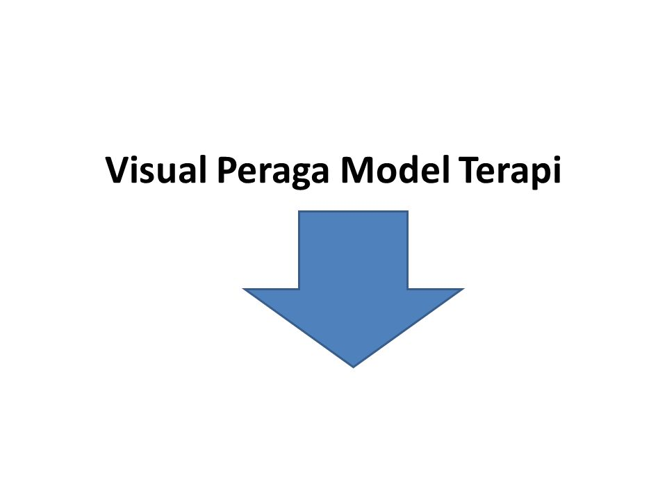 Visual Peraga Model Terapi
