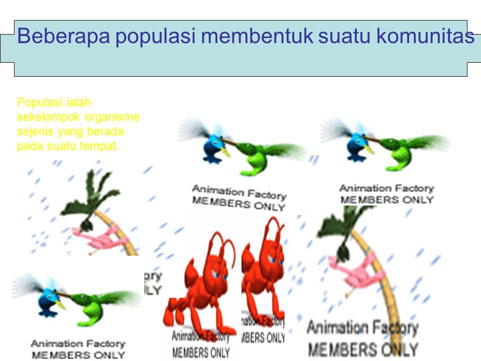 Faktor biotik dan abiotik saling berinteraksi Biotik ialah bagian ekosistim yang terdiri dari mahluk hidup misalnya: manusia,tum buhan dan hewan