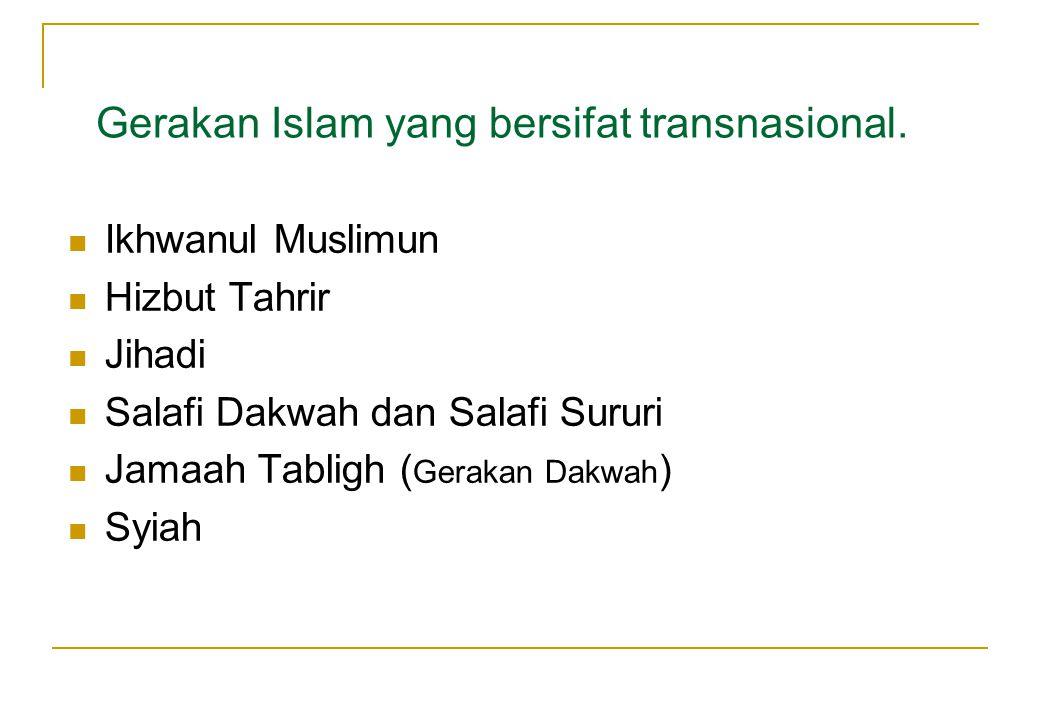 Oleh karena modus pengembangan berbasis pesantren, maka gerakan salafy di Indonesia umumnya bertabrakan langsung dengan konstituen NU.