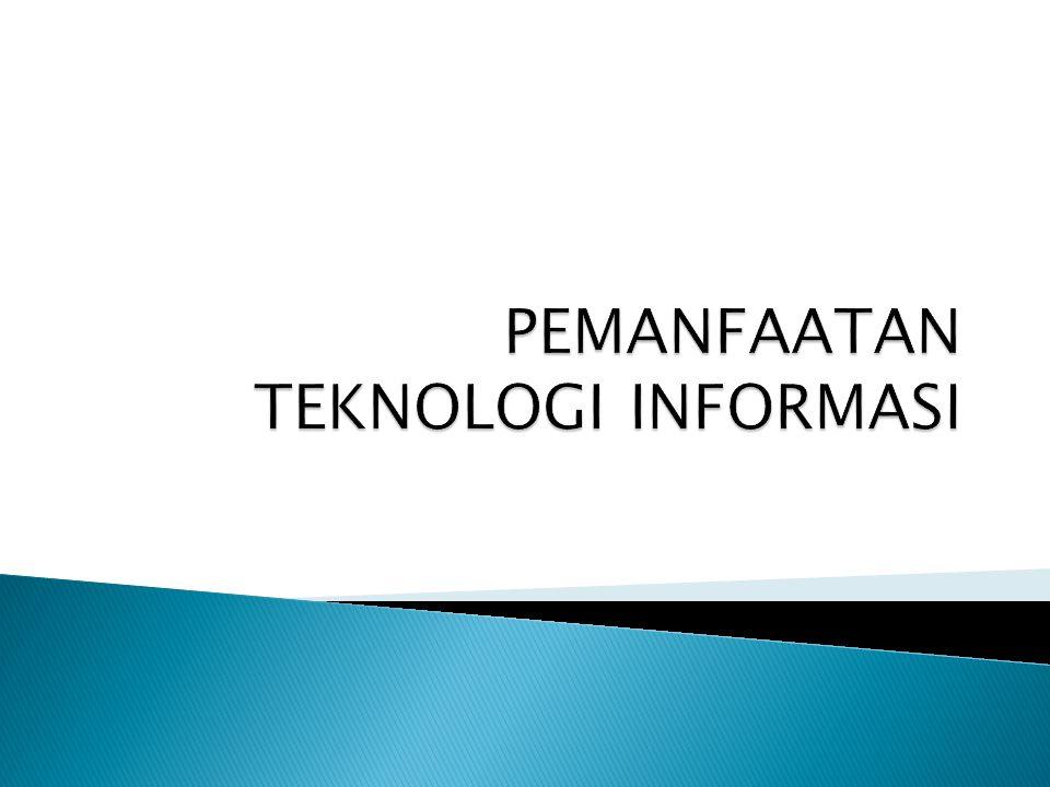  Sebagian besar diadopsi dari Rancangan Undang-Undang (RUU) Pemanfaatan Teknologi Informasi