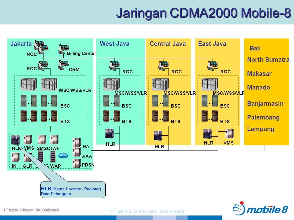 PT Mobile-8 Telecom Confidential North Sumatra..