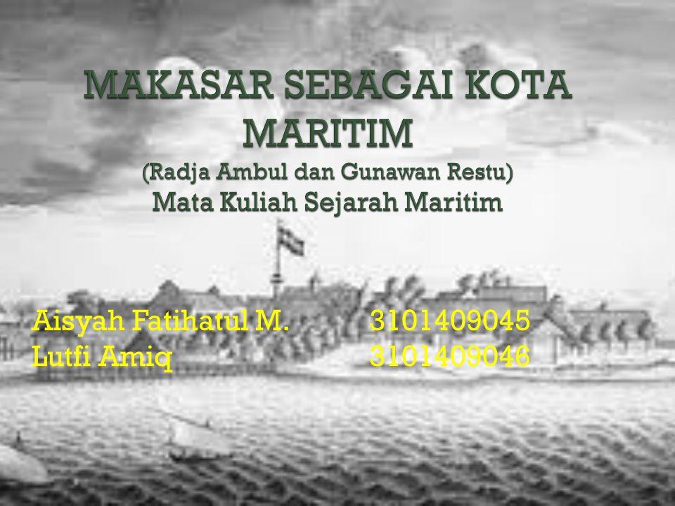 Aisyah Fatihatul M.3101409045 Lutfi Amiq 3101409046