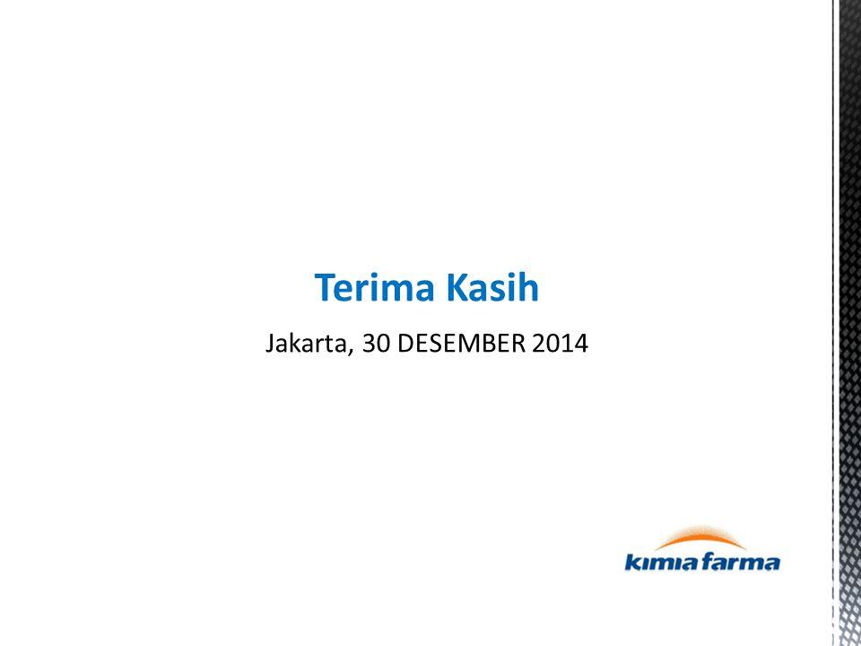 Terima Kasih Jakarta, 30 DESEMBER 2014