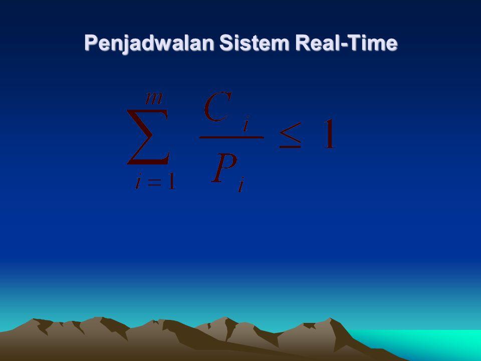 Penjadwalan Sistem Real-Time