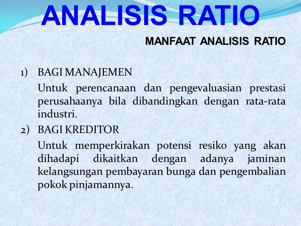 Evaluasi Terhadap Common Size Statement 1) Laporan dengan prosentase per komponen menunjukkan presentase dari total aktiva yang telah diinvestasikan dalam masing-masing jenis aktiva.