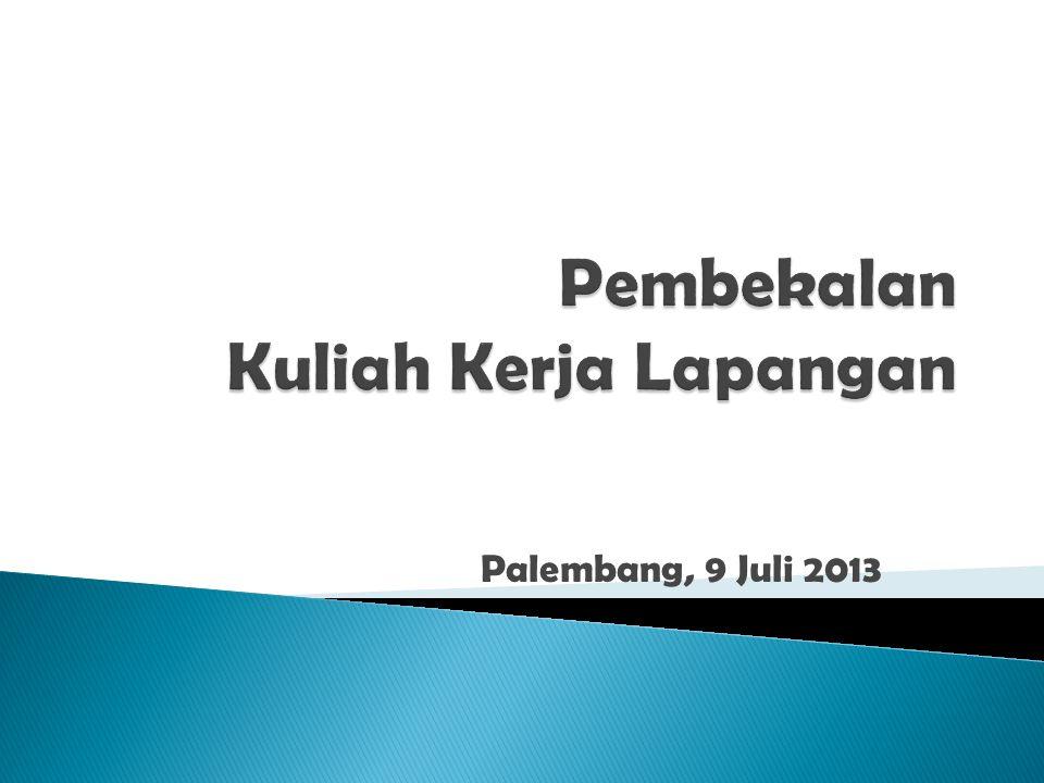 Palembang, 9 Juli 2013