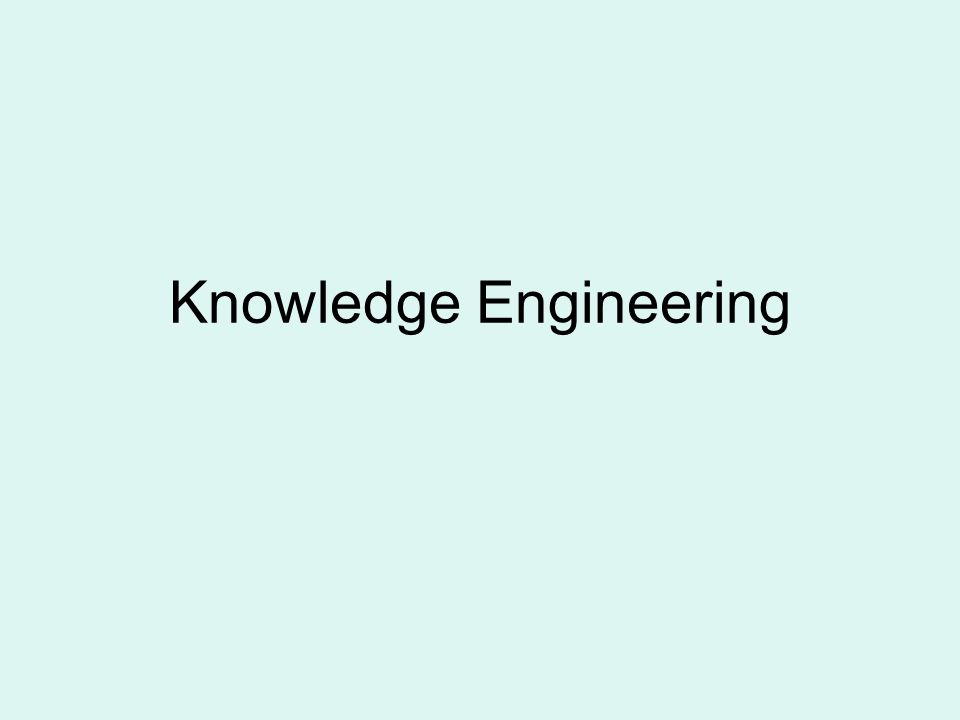 8 Knowledge Engineering Process Knowledge validation (test cases) Knowledge Representation Knowledge Acquisition Encoding Inferencing Sources of knowledge (experts, others) Explanation justification Knowledge base Decision Support Systems and Intelligent Systems, Efraim Turban and Jay E.