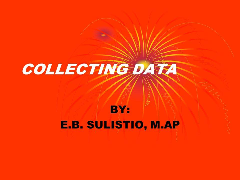 TIK: MENJELASKAN BERAGAM SUMBER DATA KUALITATIF MENJELASKAN TEKNIK SAMPLING KUALITATIF MENJELASKAN BERAGAM TEKNIK PENGUMPULAN DATA KUALITATIF