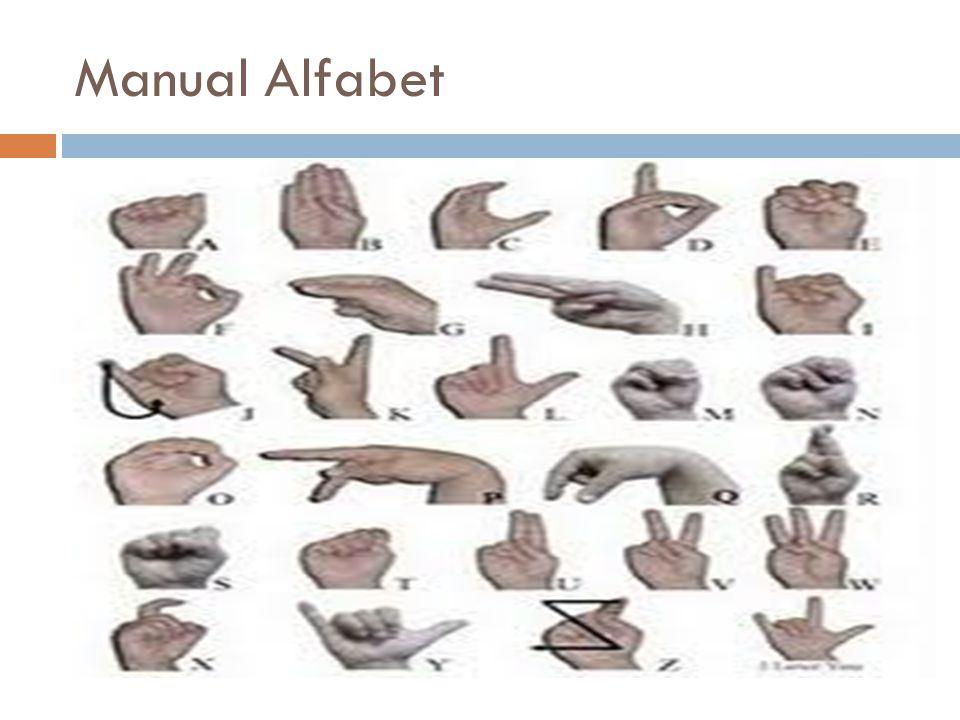 Manual Alfabet
