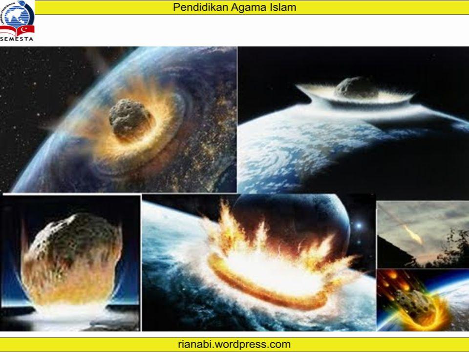 Kiamat Kubra Kiamat kubra atau kiamat besar merupakan peristiwa besar atau hancurnya alam semesta beserta isinya (makhluk) sebagai awal dimulainya keh