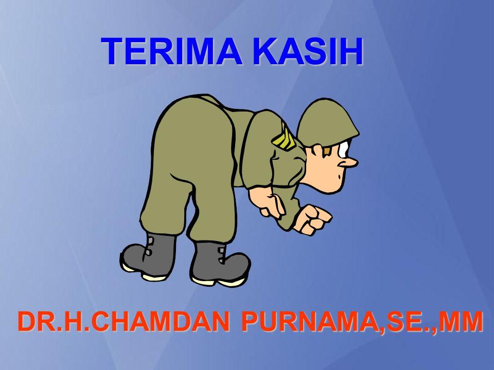 TERIMA KASIH DR.H.CHAMDAN PURNAMA,SE.,MM