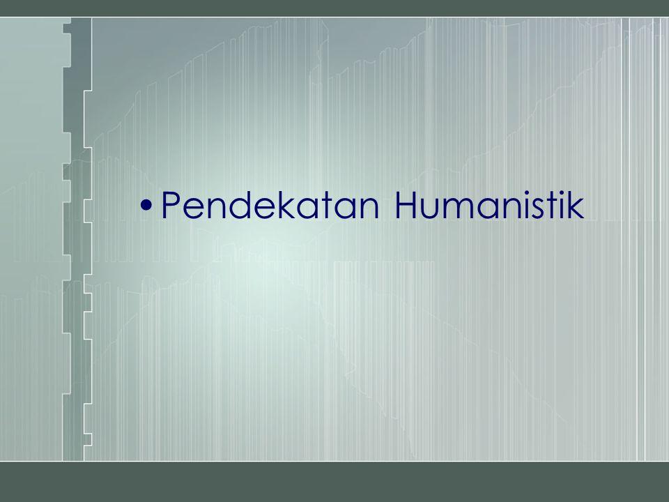 Pendekatan Humanistik