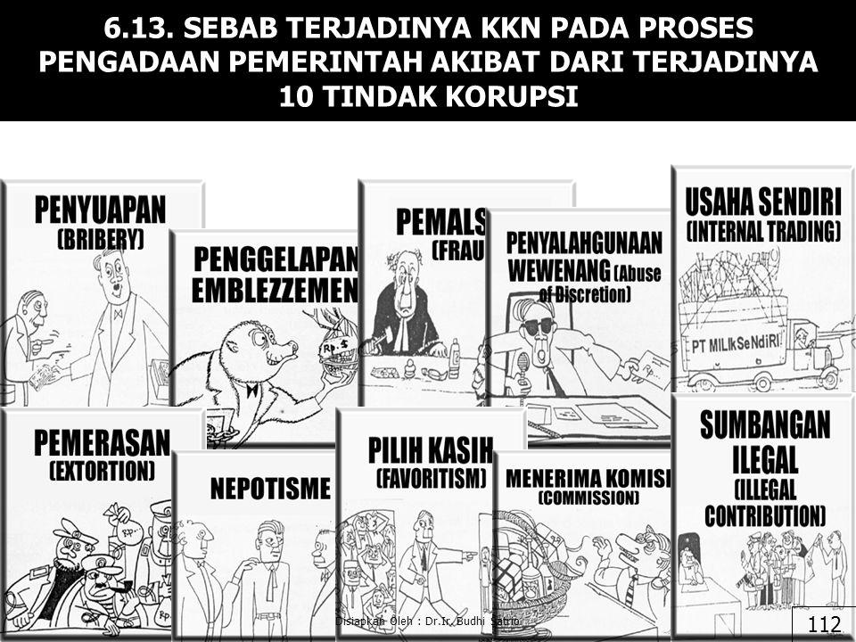 Disiapkan Oleh : Dr.Ir. Budhi Satrio Lanjutan 6.12. 111