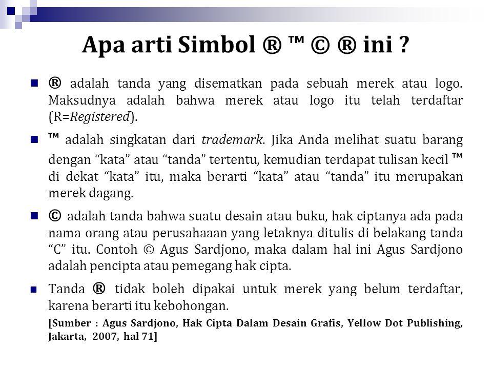 UNDANG-UNDANG REPUBLIK INDONESIA NOMOR 19 TAHUN 2002 TENTANG HAK CIPTA Tambahan Lembaran Negara Republik Indonesia Nomor 4220