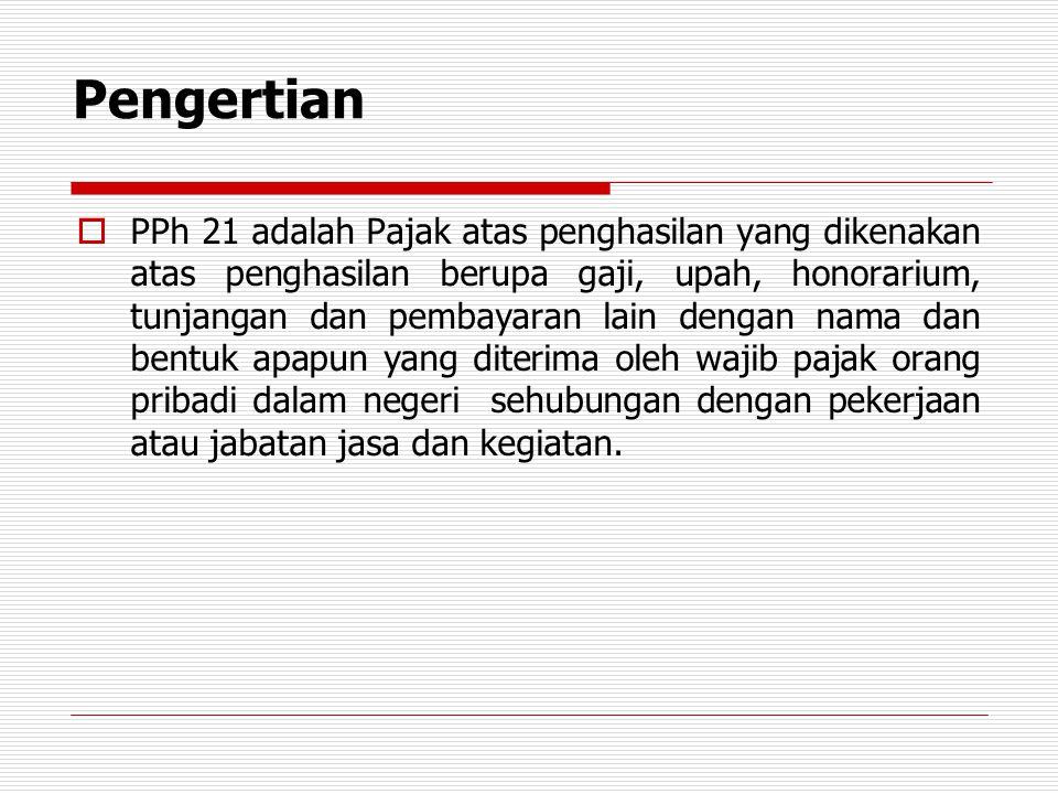 PPh 21 Pegawai Tetap  Joko Sutrisno adalah pegawai tetap PT Indah Kiat Industri (PT IKI) sejak tanggal 1 Januari 2012.