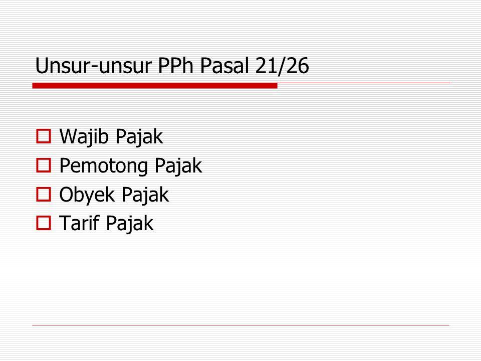 Perhitungan PPh Pasal 21 untuk peserta kegiatan adalah tarif pasal 17 dikalikan dengan penghasilan bruto.