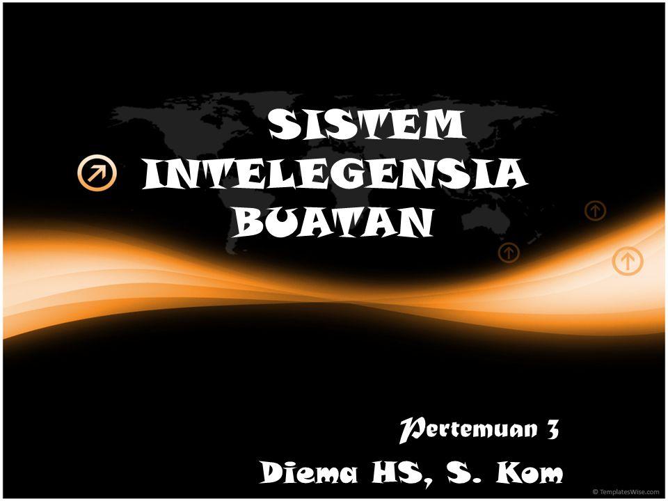 SISTEM INTELEGENSIA BUATAN Pertemuan 3 Diema HS, S. Kom