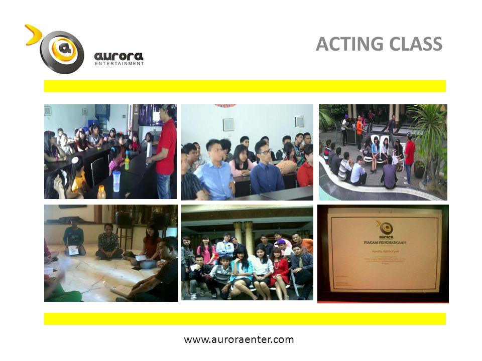 ACTING CLASS www.auroraenter.com