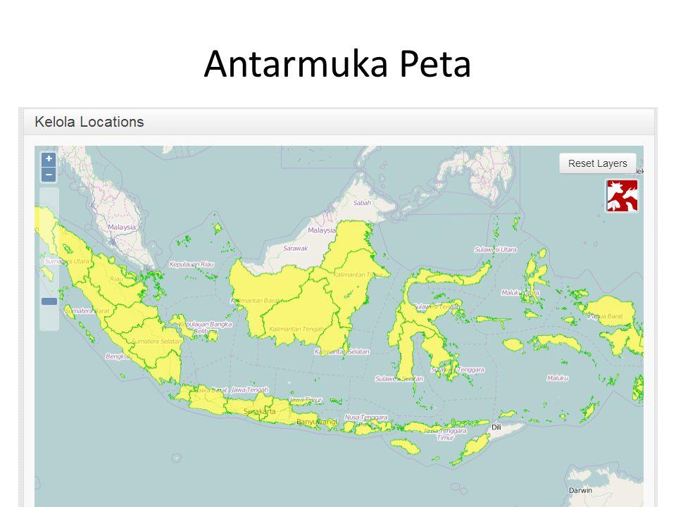 Antarmuka Peta