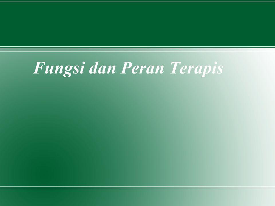 Fungsi dan Peran Terapis