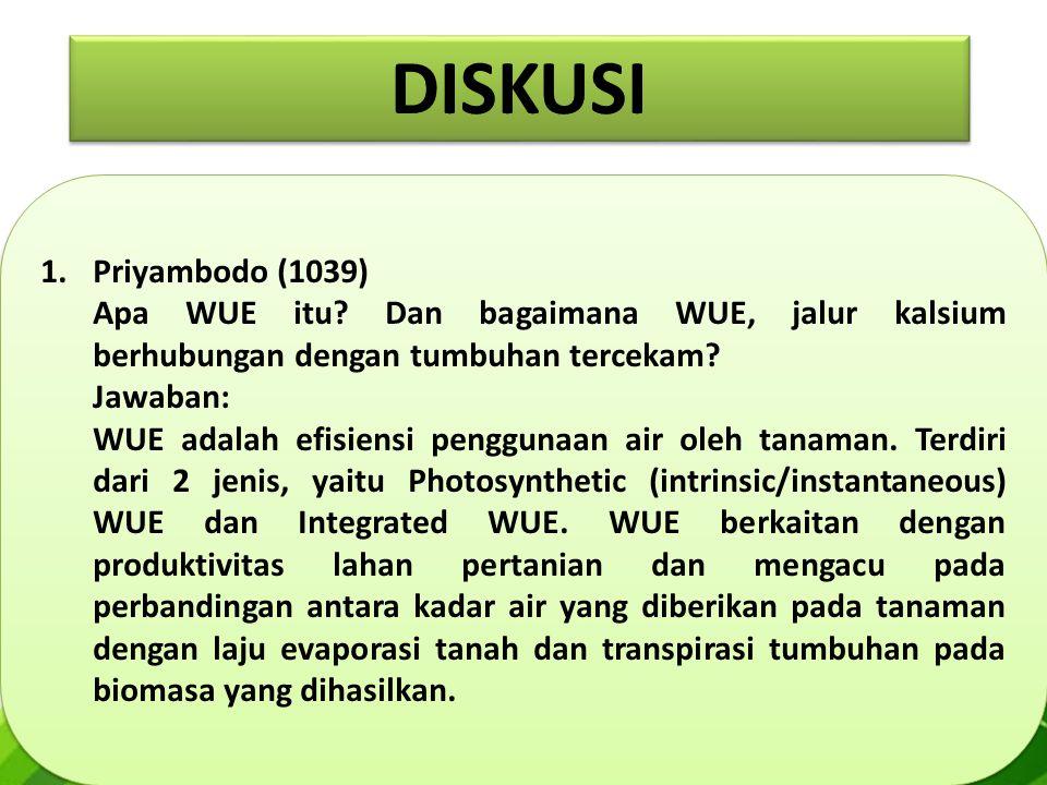 1.Priyambodo (1039) Apa WUE itu.