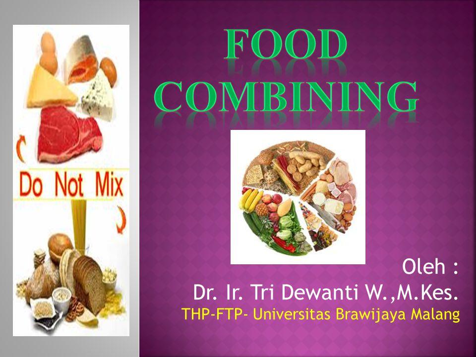Oleh : Dr. Ir. Tri Dewanti W.,M.Kes. THP-FTP- Universitas Brawijaya Malang