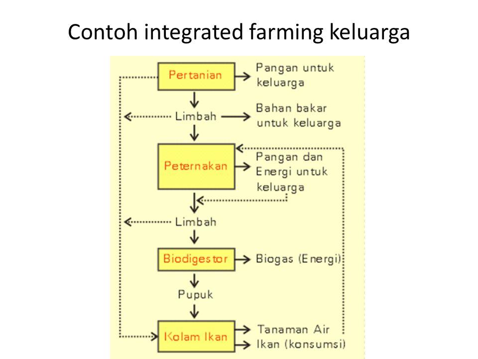 Contoh integrated farming keluarga