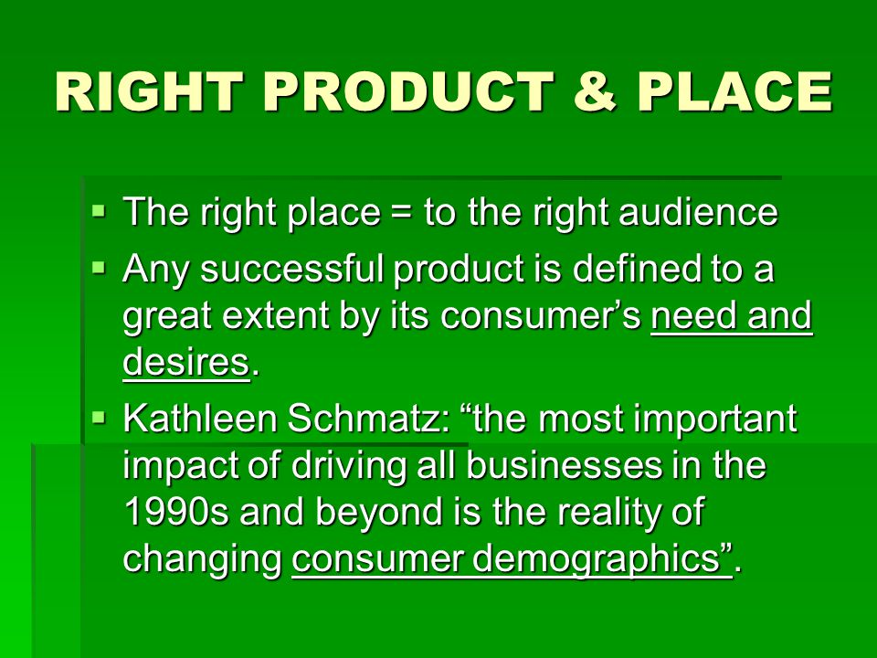 """Marketing Diagram: The 4 Ps (+P..?)  """"The right product to the right place at the right price with the right promotion"""". Right Product Rights Price S"""
