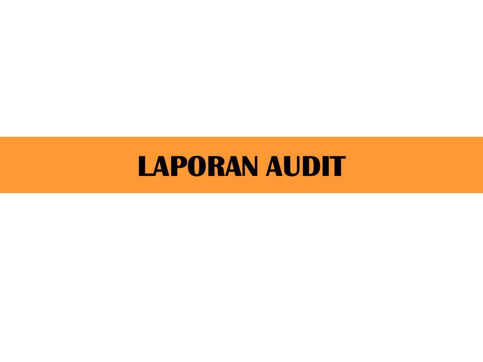 Elemen Laporan Bentuk Standar 4.Paragraf luas pengauditan, memuat pernyataan: a.Audit dilakukan sesuai dengan standar pengauditan b.Keyakinan bahwa proses audit memberikan dasar yang memadai untuk menyatakan pendapat.