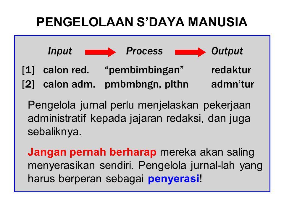 PENGELOLAAN INFORMASI Berbagai rencana internal perlu dipaparkan agar diketahui semua pihak, sehingga masing2 dapat menyesuaikan diri.