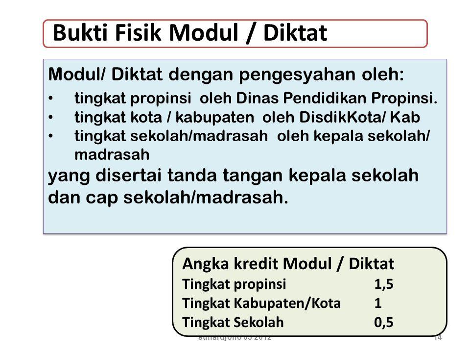suhardjono 03 201214 Modul/ Diktat dengan pengesyahan oleh: tingkat propinsi oleh Dinas Pendidikan Propinsi.