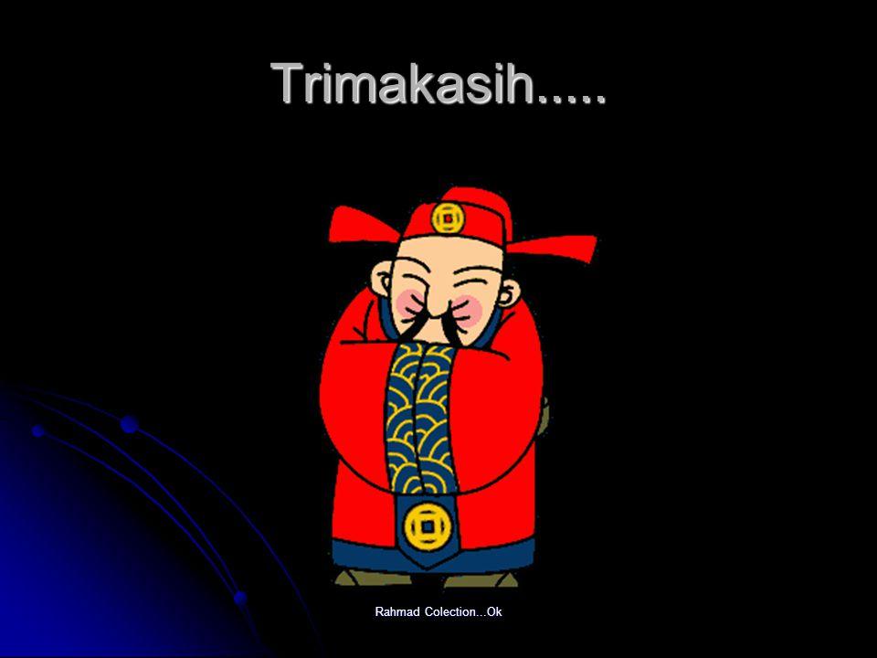 Trimakasih..... Rahmad Colection...Ok