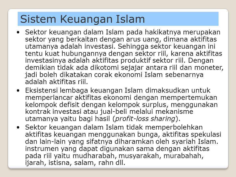 Perputaran Barang & Jasa (Produktif) Aktifitas Keuangan (Non-Produktif) Aktifitas ekonomi non-produktif membuat perputaran barang dan jasa semakin har