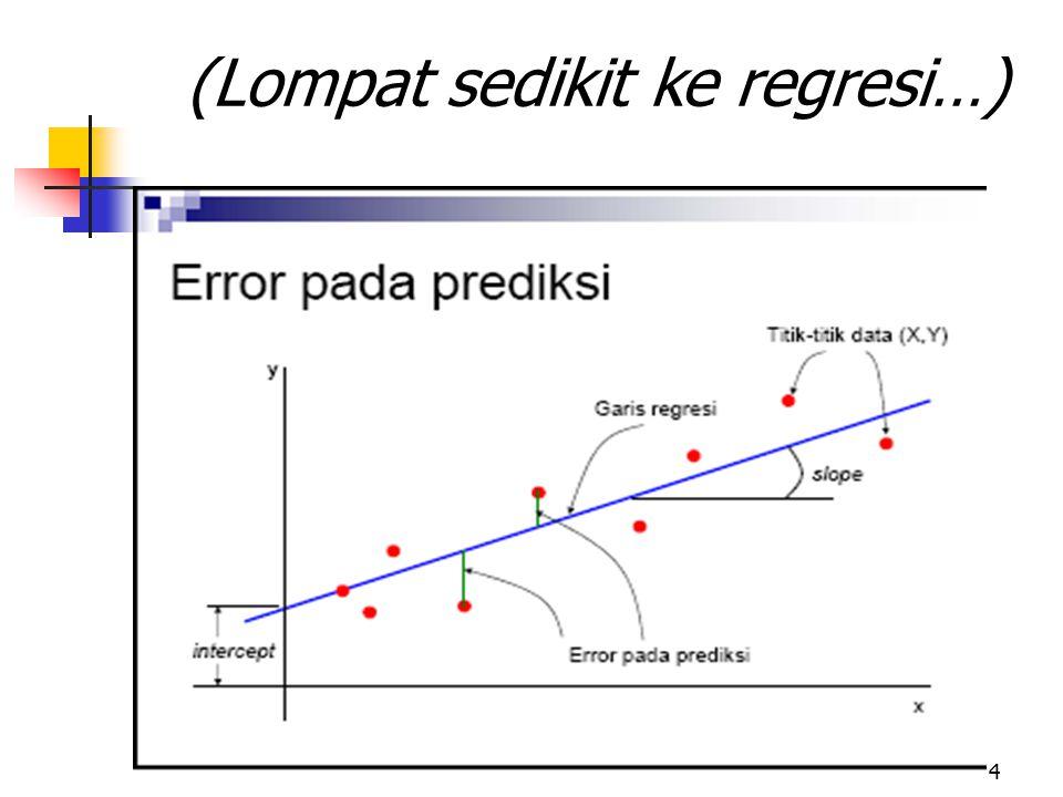 4 (Lompat sedikit ke regresi…)