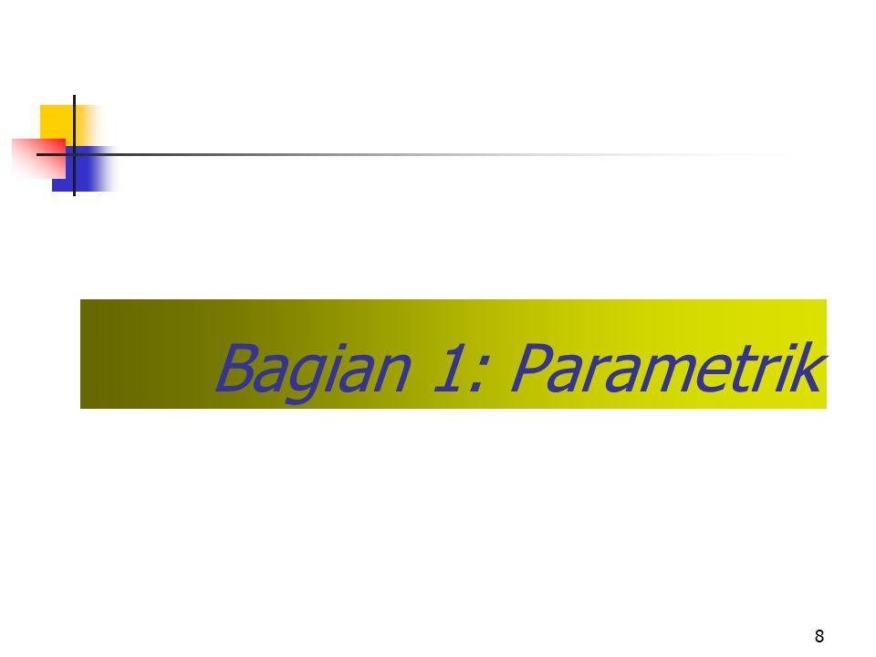 8 Bagian 1: Parametrik