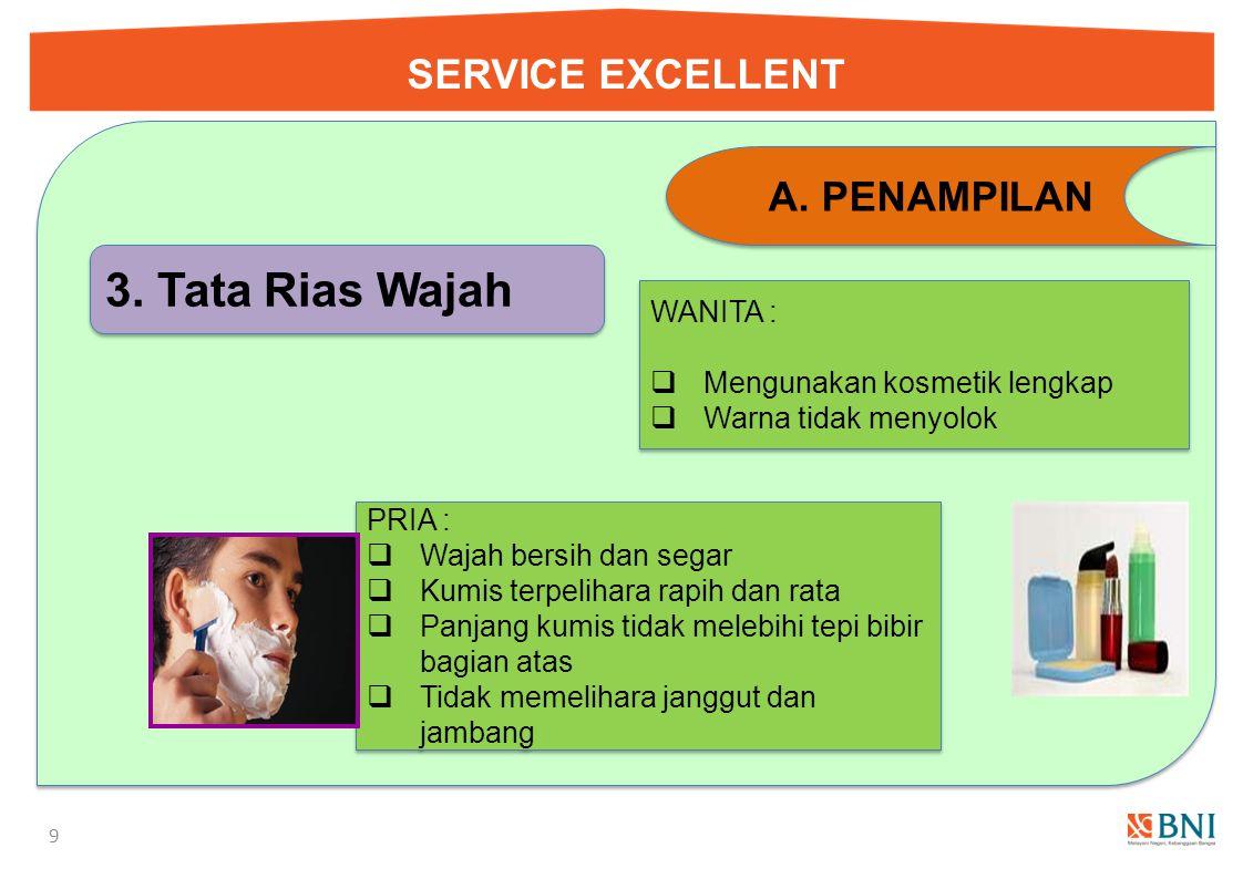 SERVICE EXCELLENT 9 A.PENAMPILAN 3.