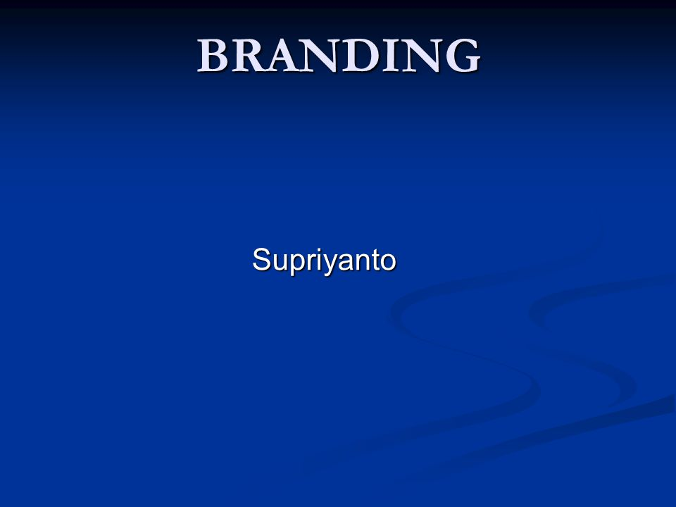 Brands We are living in the life of Brands everyday Brands have penetrate our daily life consciously or unconsciously 2