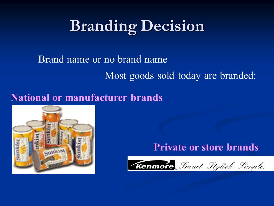 Cobranding Two or more well known brands are paired in a single offering