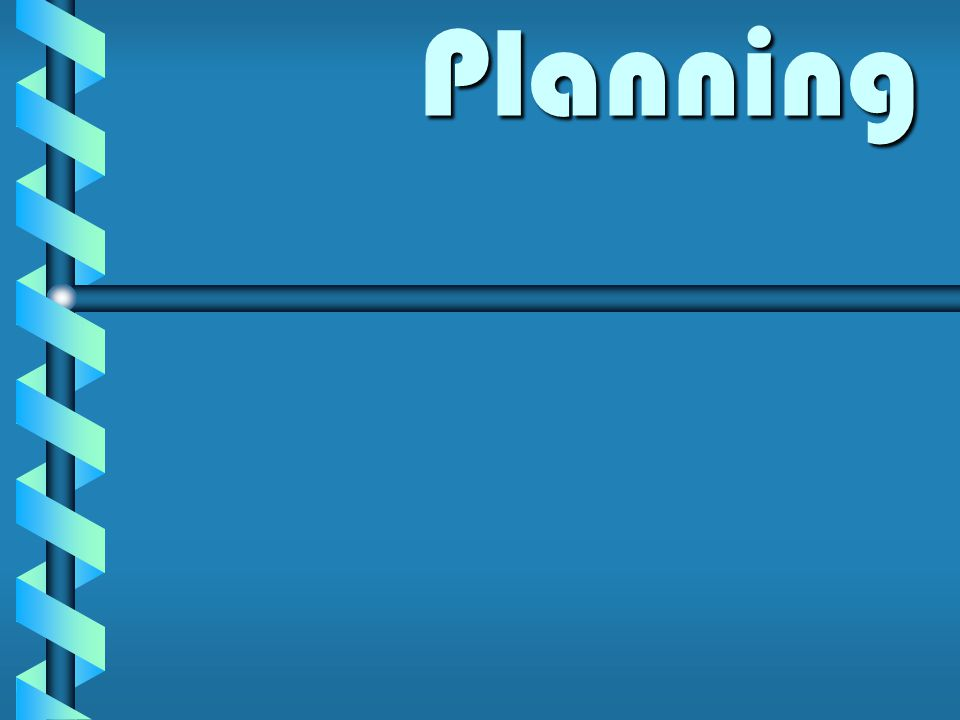 Planning Planning
