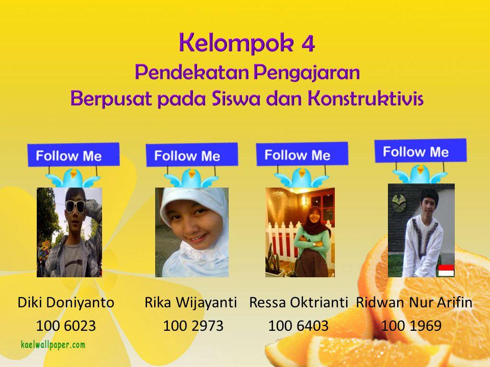 Diki Doniyanto Rika Wijayanti Ressa Oktrianti Ridwan Nur Arifin 100 6023 100 2973 100 6403 100 1969