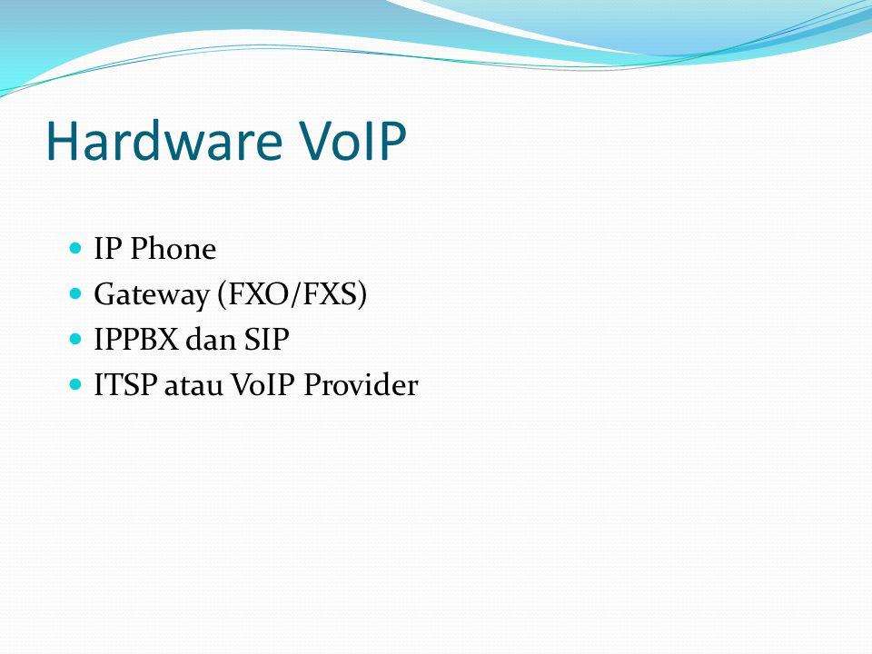 Hardware VoIP IP Phone Gateway (FXO/FXS) IPPBX dan SIP ITSP atau VoIP Provider