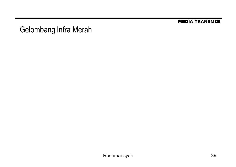 MEDIA TRANSMISI Rachmansyah39 Gelombang Infra Merah
