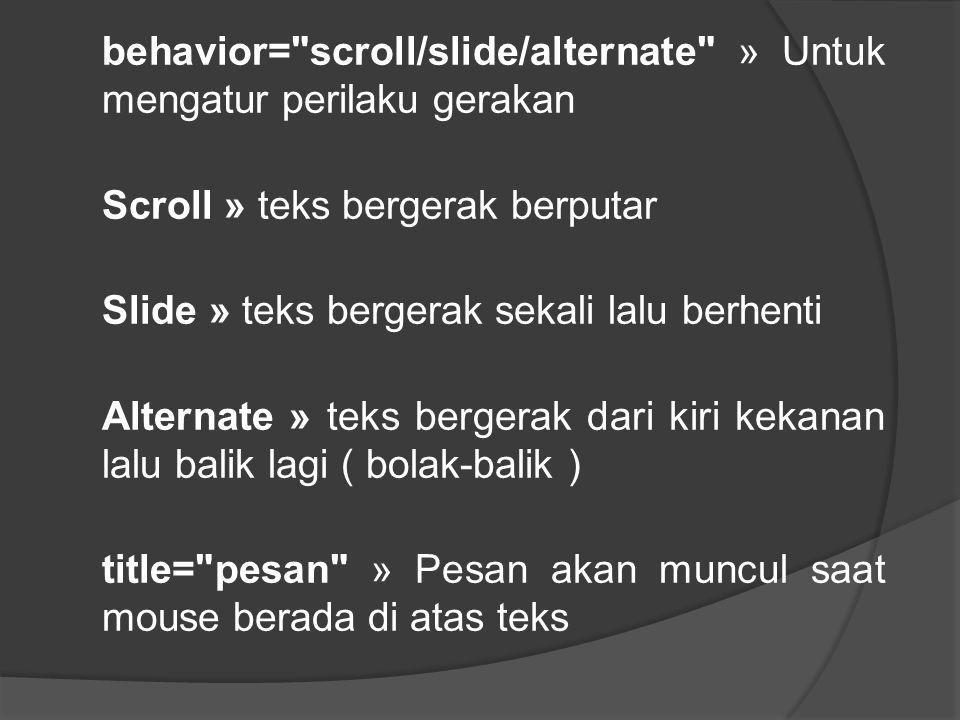 behavior=