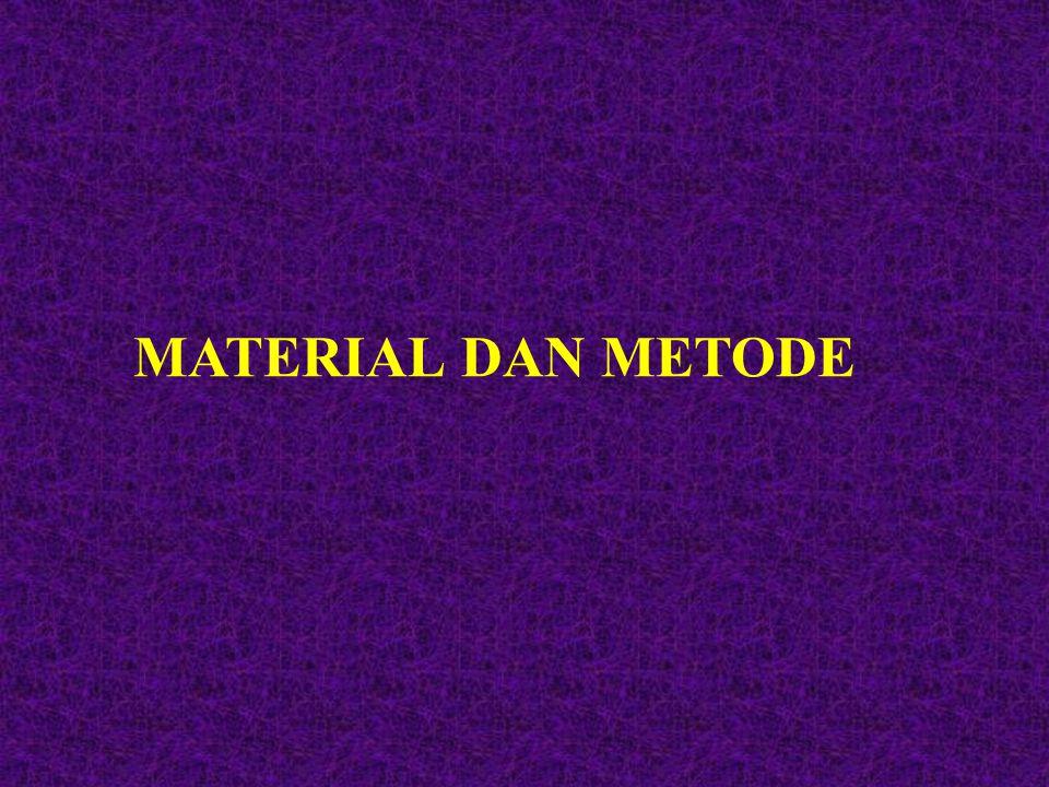 Material dan Metode 2,3 tujuan Tujuan dari bab Material dan Metode adalah untuk mendiskripsikan bagaimana Anda bisa memperoleh hasil penelitian Anda.