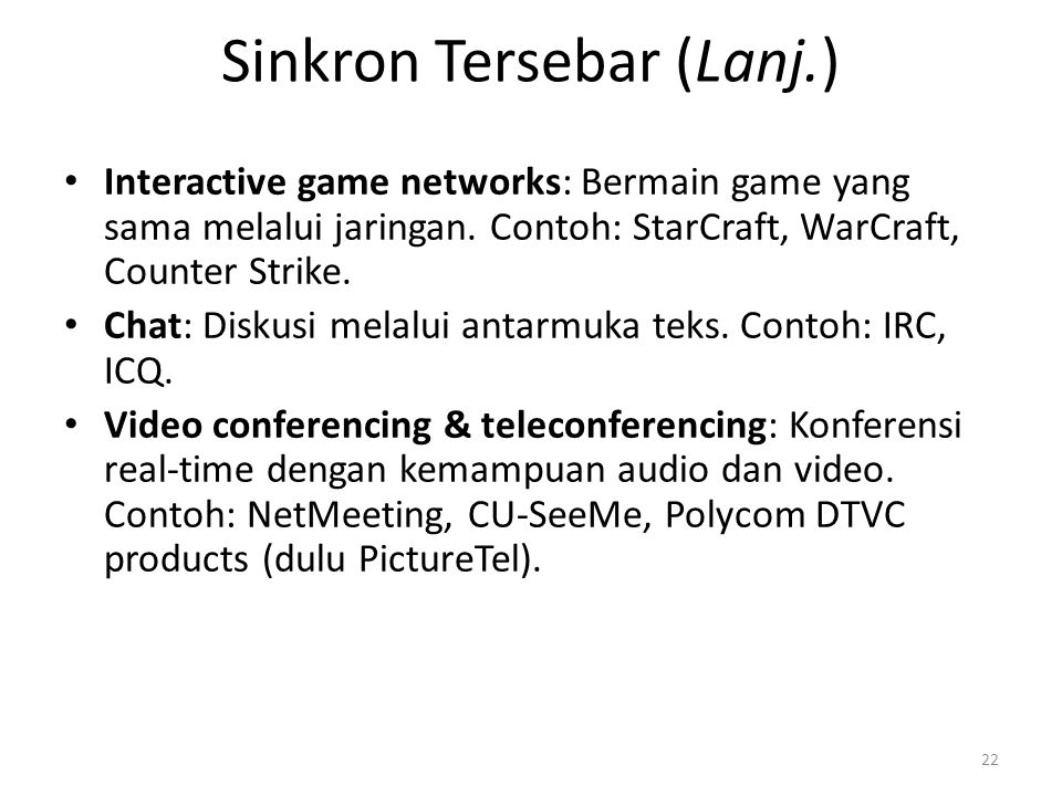 Sinkron Tersebar (Lanj.) WarCraft III dari Blizzard 23