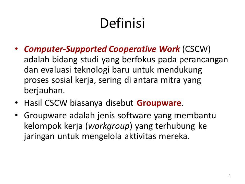 Tujuan Kerja Sama Kemitraan terfokus: kerja sama antara dua pemakai yang saling membutuhkan untuk menyelesaikan tugas.