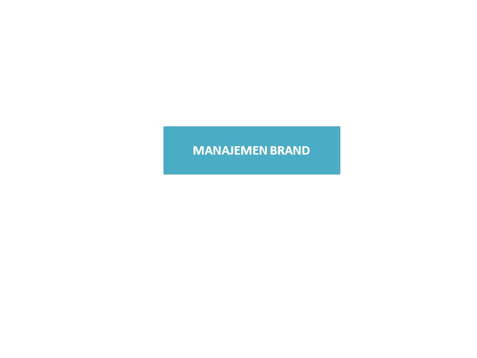 Definisi 'Brand' Brand dan Mitos Kepuasan Klasifikasi Brand Brand Campaign Brand Recognition Brand Insistance Lovely Brand/Brand Satisfy OUTLINE