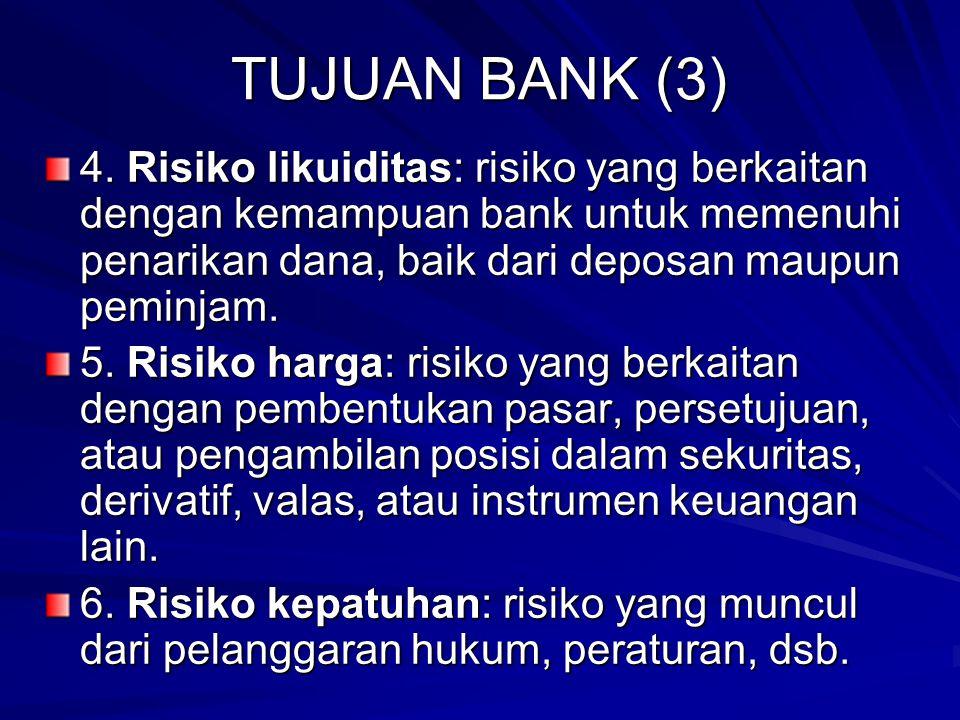 TUJUAN BANK (3) 4.