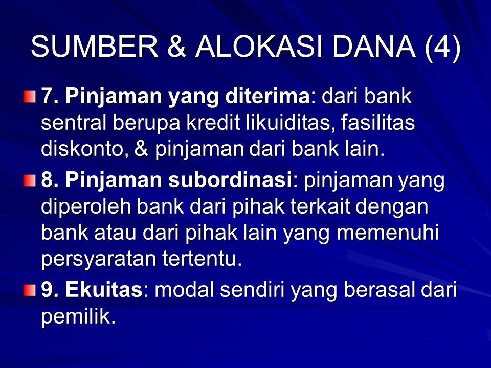 SUMBER & ALOKASI DANA (4) 7.