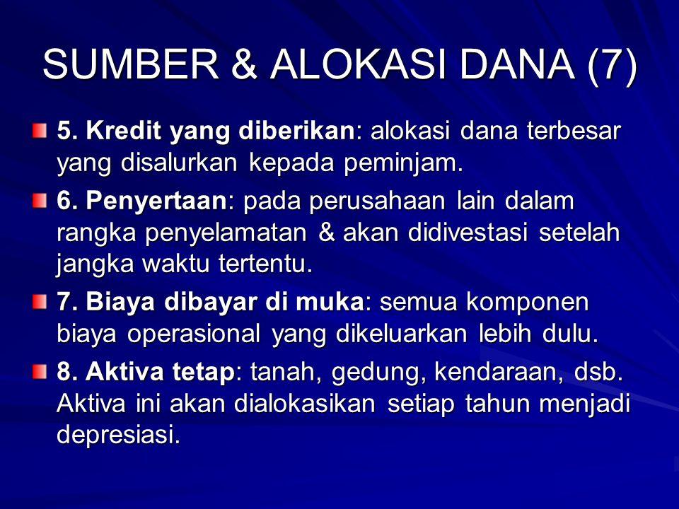 SUMBER & ALOKASI DANA (7) 5.